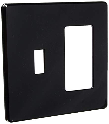 Lutron FG-2-TD-BL Electrical Distribution Wall Plate Black