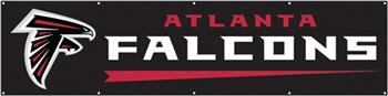 Atlanta Falcons Official NFL 8' Tailgate Banner Flag by Party Animal ()