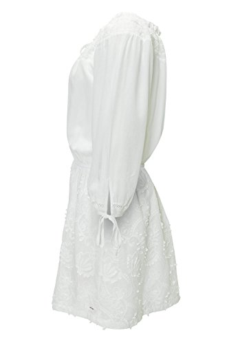 khujo Sommerkleid L Off 109 Offwhite Damen Kleid Shoulder rqn5grpv