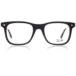 Ray-Ban Men's RX5248 Eyeglasses Shiny Black 49mm