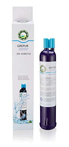 GREPUR Refrigerator Water Filter 4396/710 (1 Pack) by GREPUR
