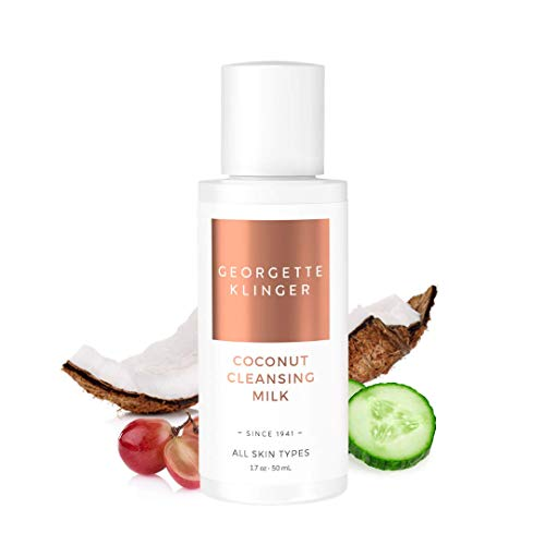 Georgette Klinger Coconut Facial Cleansing Milk Sulfate Free Daily Face Cleanser for All Skin Types - Travel Size