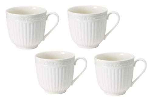 (Mikasa Italian Countryside Teacup, 9-Ounce, Set of 4)