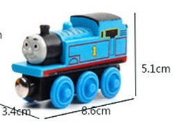 Hot Selling Wooden Magnetic Thomas Train Toy Simulates Thomas And Friends TV Show Boxing Day Deal (Thomas And Friends Costumes)