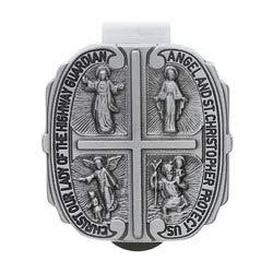 Four Way Medal Visor Clip McVan Inc 5559022459