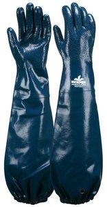 XL Blue Nitrile PredaFlex™ Supported Dipped Glove Pair