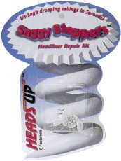 Heads Up HU850 Saggy Stoppers Fasteners