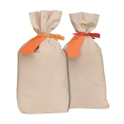 MMF Industries Flat-Bottom Cotton Duck Shipping Bag, 14 x 24 Inches, 1 Each (231032406)