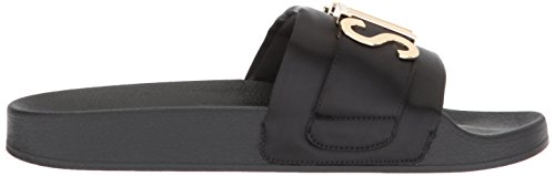 Steve Black Sandal Slide Multi Word Women's Madden wrq4xAwp