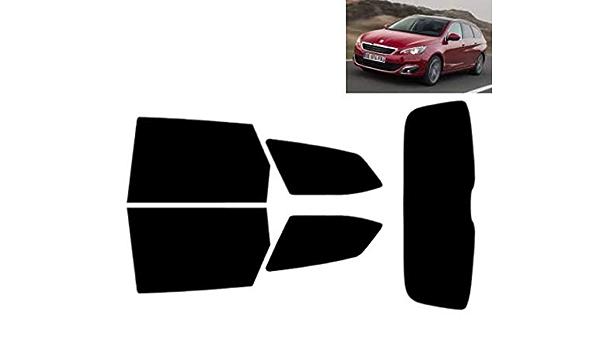 Láminas Solares para Tintar Las Lunas del Coche-Peugeot 308 5 ...