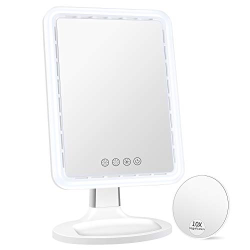 BESTOPE Makeup Mirror with Fan – Lighted
