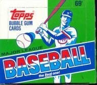 - 1987 Topps Baseball Cello Box (Barry Bonds Rookie)