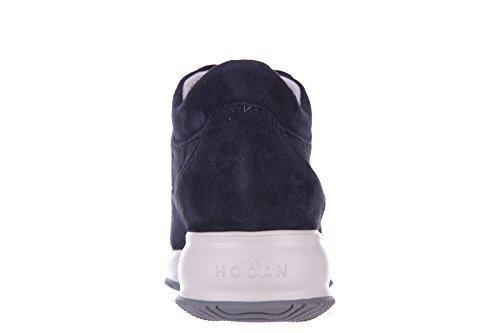 Hogan scarpe sneakers donna camoscio nuove interactive h micro paillettes cascat