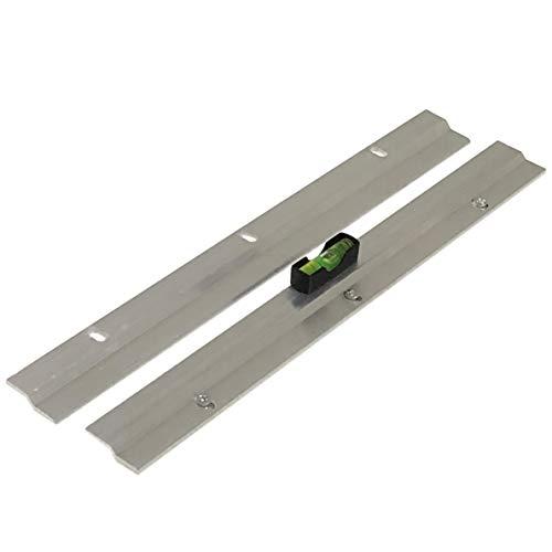 Barra en Z de 300 mm de alta resistencia para colgar espejos o cuadros