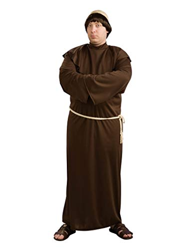 Rubie's Men's Plus Size Monk Robe with