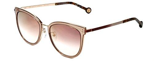 Carolina Herrera Designer Sunglasses SHE102-8FCG in Pink - Sunglasses Carolina Herrera