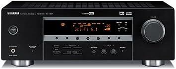 Amplificador de sonido home-Cinema Yamaha RX-V357 negro, potencia 5 x 90