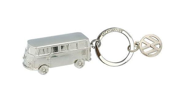 Volkswagen Bulli llavero plata - kuk68252000: Amazon.es ...