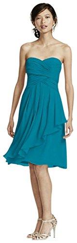 oasis chiffon dress - 4