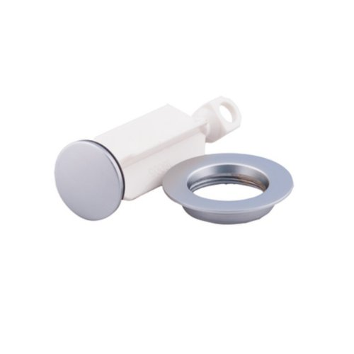 Chrome Plug - Moen 10709 Replacement Lavatory Drain Stopper (Chrome)