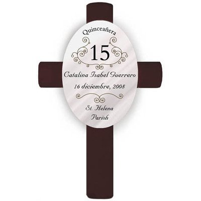 Personalized Gift Quinceanera Cross by