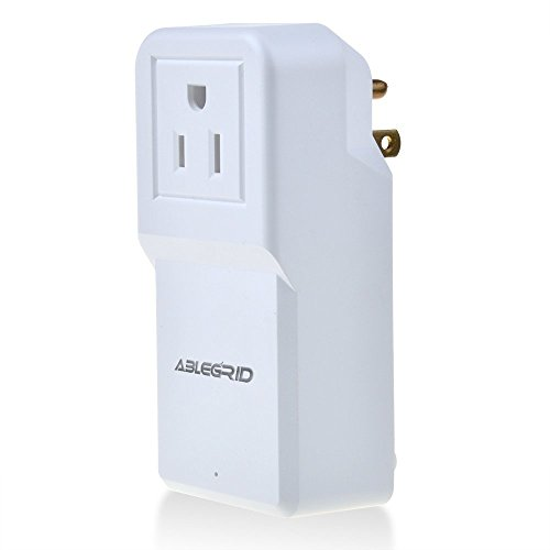 ABLEGRID 25W Multi USB 4 Port Wall Charger Rapid Station Charging For Apple Android (White)