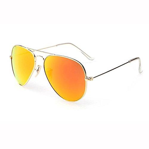Metal Color Verano 1 De Clásico 4 Gafas ZX Retro Manejar Neutral UV400 Sol Gafas a4RqXnxw1