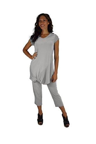 Sympli Women's Narrow Pants Short-Oatmeal (Oatmeal, 6-Short) by Sympli
