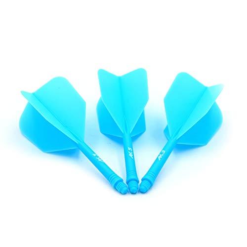(CUESOUL Integrated Dart Shaft and Flights Standard Shape,Set of 3 pcs Unique Designed Pattern)