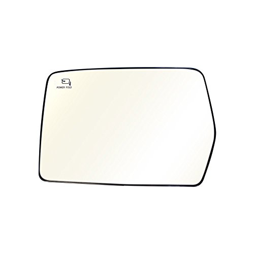 Titanium Plus 2004-2010 Ford F-150 Front,Left Driver Side DOOR MIRROR PLATE WITH HEATED,POWER,FOLDING,WITH GLASS