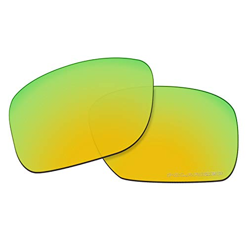 (OOWLIT Replacement Lenses Compatible with Oakley Holbrook Sunglass 24K Combine8 Polarized)