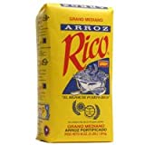 Arroz Rico, Puerto Rico's Best - #1 Medium Grain White Rice - 3 Pounds Bag
