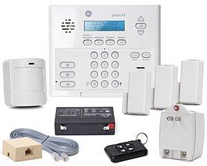 GE Security 80-649-3N-XT Simon XT Crystal Package C5 w/o X10: Control, Battery, Class II Transformer, Phone Cord, RJ31X Jack, Video, (3) Crystal (Rj31x Cord)
