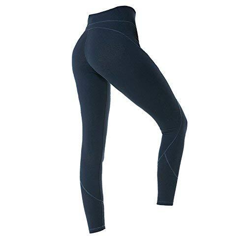 Yoga Mujeres Deportes Fitness Cintura Único Leggins Pantalones Ropa Patchwork Alta Biran Deportiva Medias Azul Nuevo Leggings Elástica IB0pAqnw8