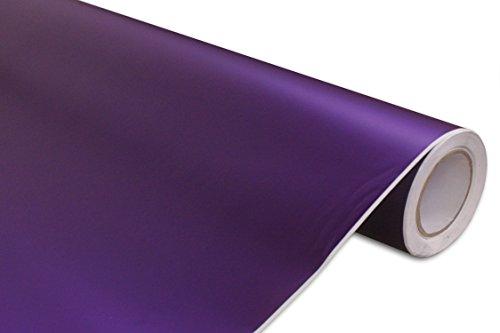 dized Purple Vinyl Car Wrap 12-by-60-inch ()