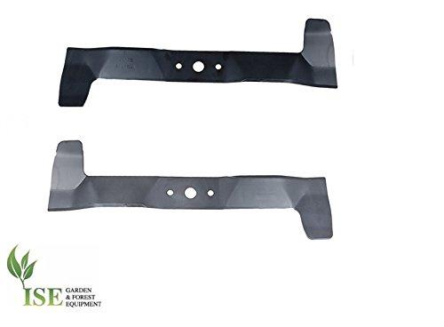 ISE® set di lame di ricambio sinistra e destra per Castel Garden Njs 13.5 – 90H sostituisce numeri  82004354 0 e 82004353 0
