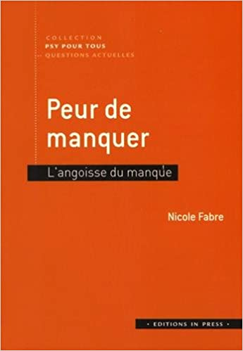 VOTRE PEUR FRENCH EDITION DOCUMENT Original (PDF)
