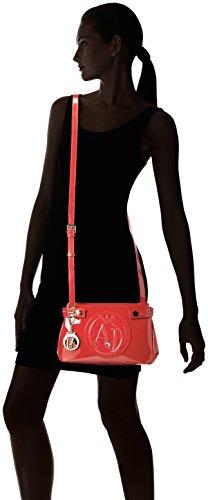 922527cc855 Rojo Armani Bolso 00176 bordeaux Bandolera Mujer Rot 6OdFxSd