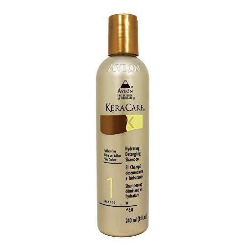 Avlon KeraCare Hydrating Detangling Shampoo (Sulfate-Free Formula) - 8 oz