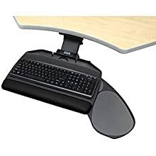 """WorkRite 2128-22 Banana-Board and 22"""" Value Arm+track With Jel wrist rest"""