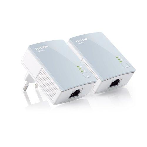 TP-Link TL-PA411KIT V2.0 AV500 Mini Powerline-Netzwerkadapter (500Mbps) 2-er Set