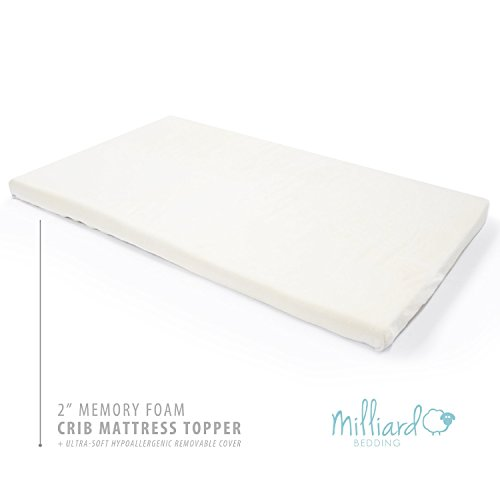 milliard-2-inch-ventilated-memory-foam-crib-toddler-bed-mattress-topper-with-removable-waterproof-65