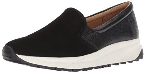 Naturalizer Women's Selah Sneaker, Black, 9 W US