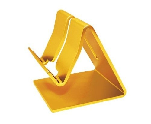 Aluminum Metal Stand Holder Stander For iPad iPhone Mobile Phone Smart Tab Y365 (New Gold)