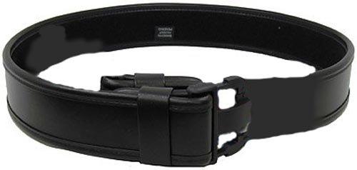Bianchi AccuMold Elite 7950 Duty Belt (Plain Black, X-Large 46-52)