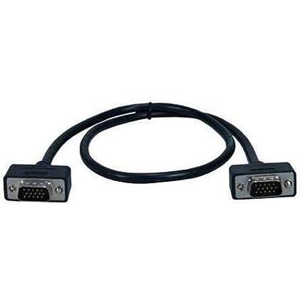 QVS Premium CC388M1-02 Coaxial UltraThin VGA Cable - Coaxial - 2 ft - 1