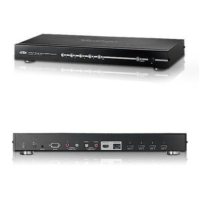 Aten 4-Port Dual View HD Video Switch VS482 by ATEN