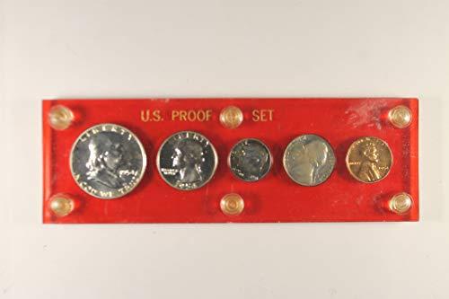 1954 US Mint Proof Set *Plastic Holder* - 1954 Mint Set Us Proof