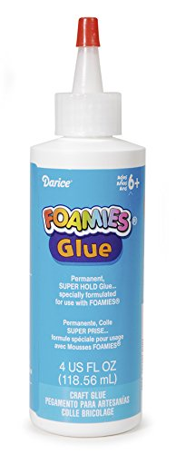 Darice Foamies Glue - 4 oz - Foamies Glue Craft