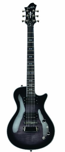 Hagstrom ULSWE-CBB Ultra Swede Cosmic Black Burst for sale  Delivered anywhere in USA